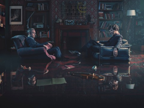 Water-ever's the matter with Sherlock and John in this moody new series 4 teaser?