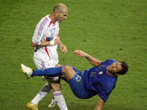 Marco Materazzi pokes fun at Zinedine Zidane over infamous World Cup final head-butt