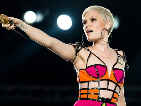 Jessie J goes topless and smothers herself in silver body paint for daring photoshoot