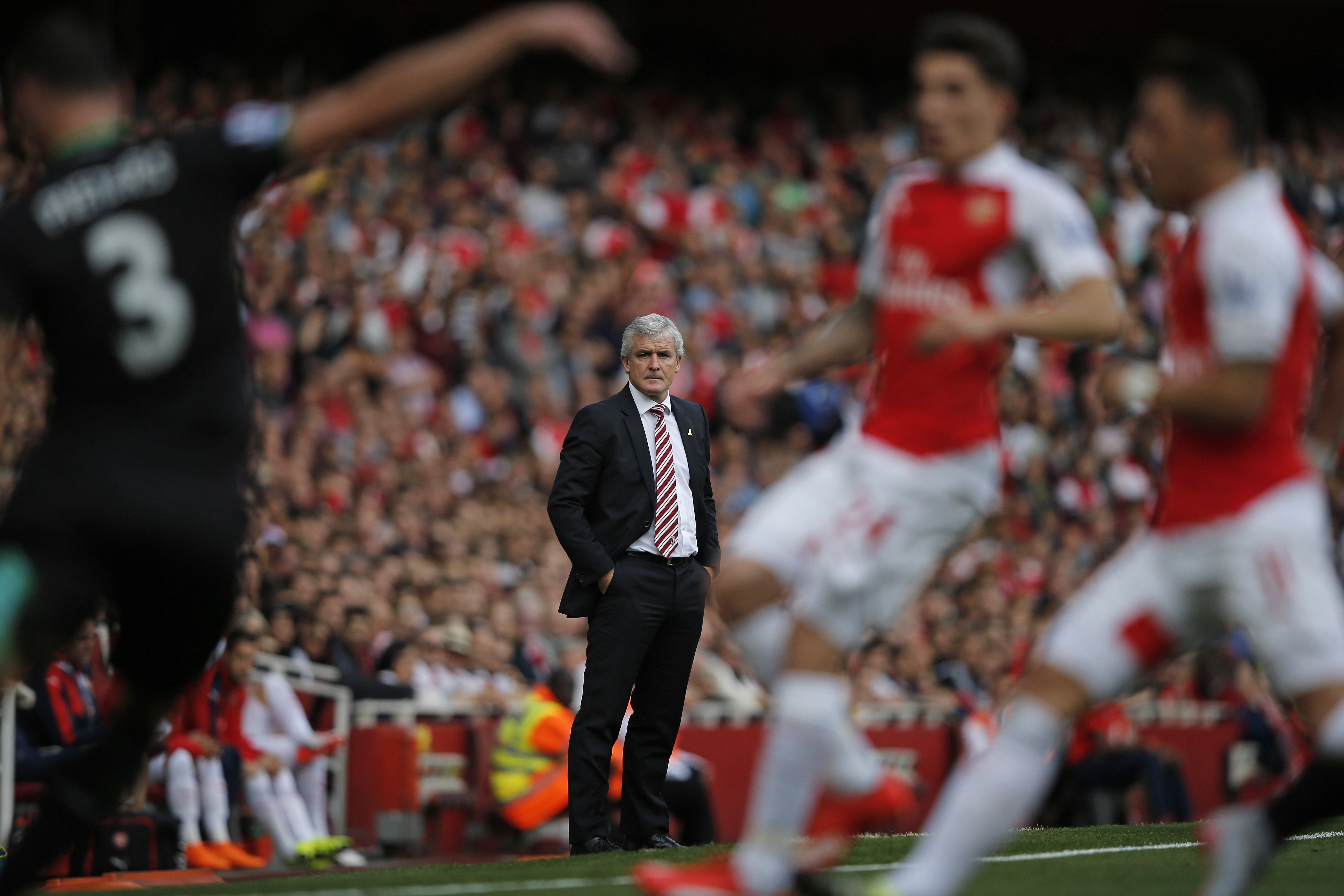 Mark Hughes explains why he thinks Stoke can end their Arsenal hoodoo