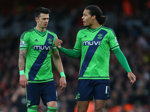 Claude Puel insists Manchester United targets Jose Fonte and Virgil van Dijk are staying at the club