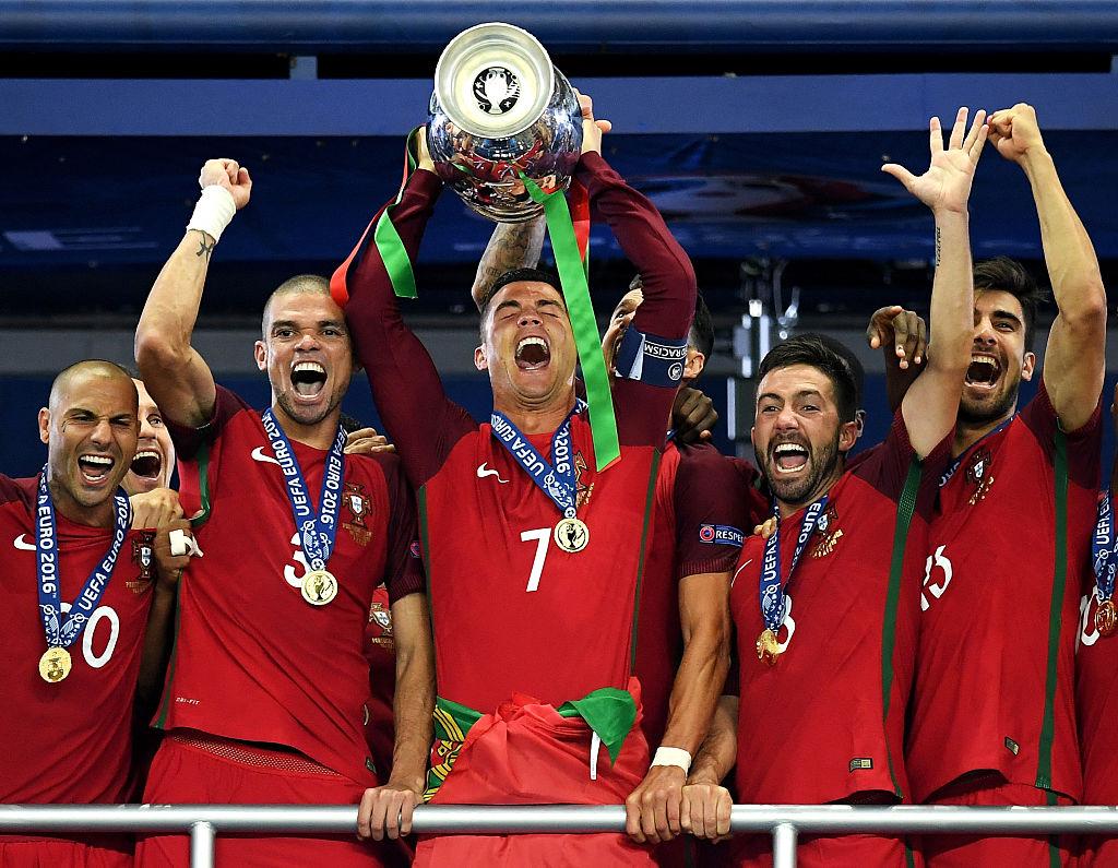 Euro 2016 winners