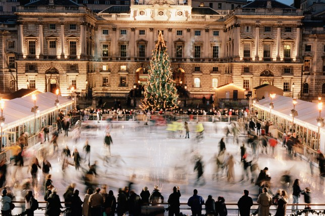 Christmas Ice Skating London.Christmas 2016 6 Of The Uk S Best Outdoor Skating Rinks To