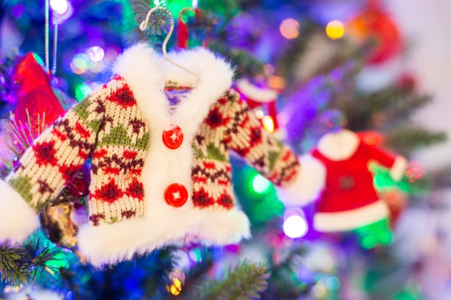 The one time of year where tackiness is encouraged (Picture: Getty)