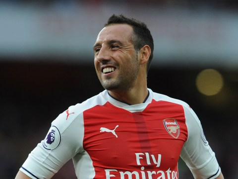 Arsenal more solid without Santi Cazorla, says Glenn Hoddle