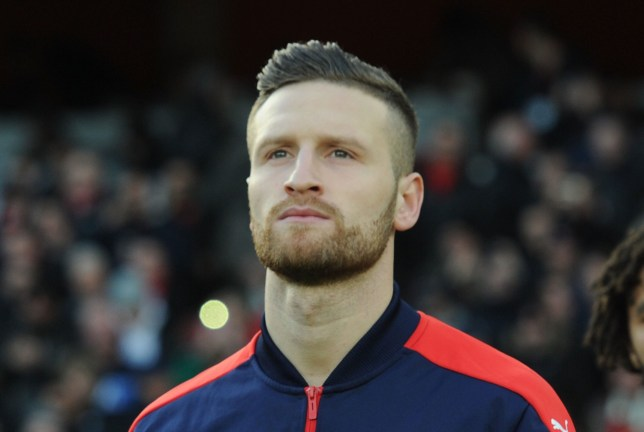 LONDON, ENGLAND - NOVEMBER 27: Shkodran Mustafi of Arsenal during the Premier League match between Arsenal and AFC Bournemouth at Emirates Stadium on November 27, 2016 in London, England. (Photo by Stuart MacFarlane/Arsenal FC via Getty Images)