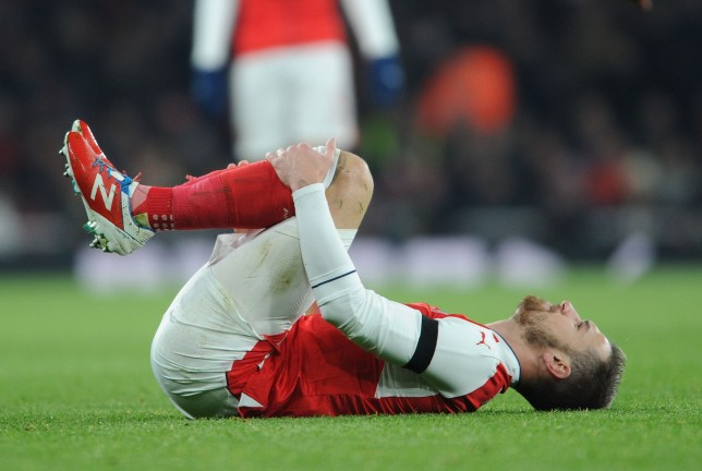 LONDON, ENGLAND - NOVEMBER 30: Aaron Rasmey of Arsenal during the EFL Quarter Final Cup match between Arsenal and Southampton at Emirates Stadium on November 30, 2016 in London, England. (Photo by Stuart MacFarlane/Arsenal FC via Getty Images)
