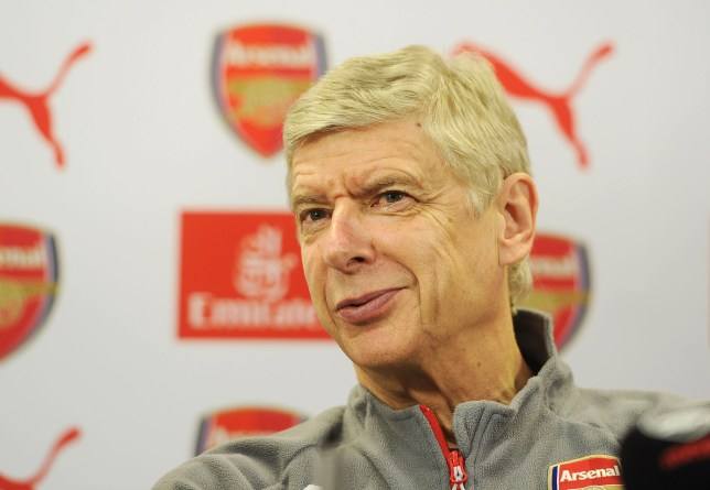 ST ALBANS, ENGLAND - DECEMBER 02: Arsenal manager Arsene Wenger attends a press conference at London Colney on December 2, 2016 in St Albans, England. (Photo by Stuart MacFarlane/Arsenal FC via Getty Images)