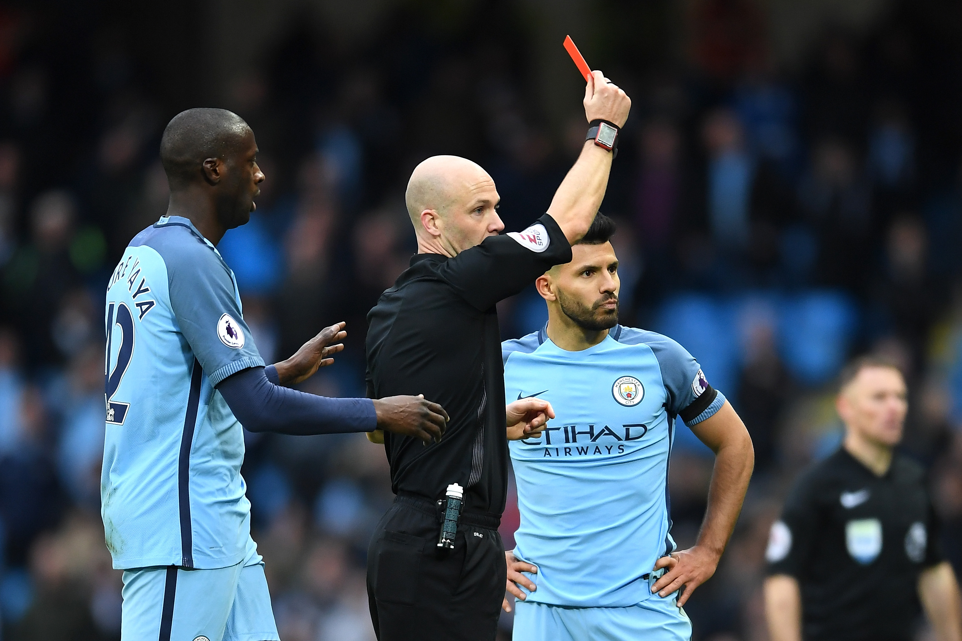 Arsenal boost as Sergio Aguero and Fernandinho out of Manchester City game