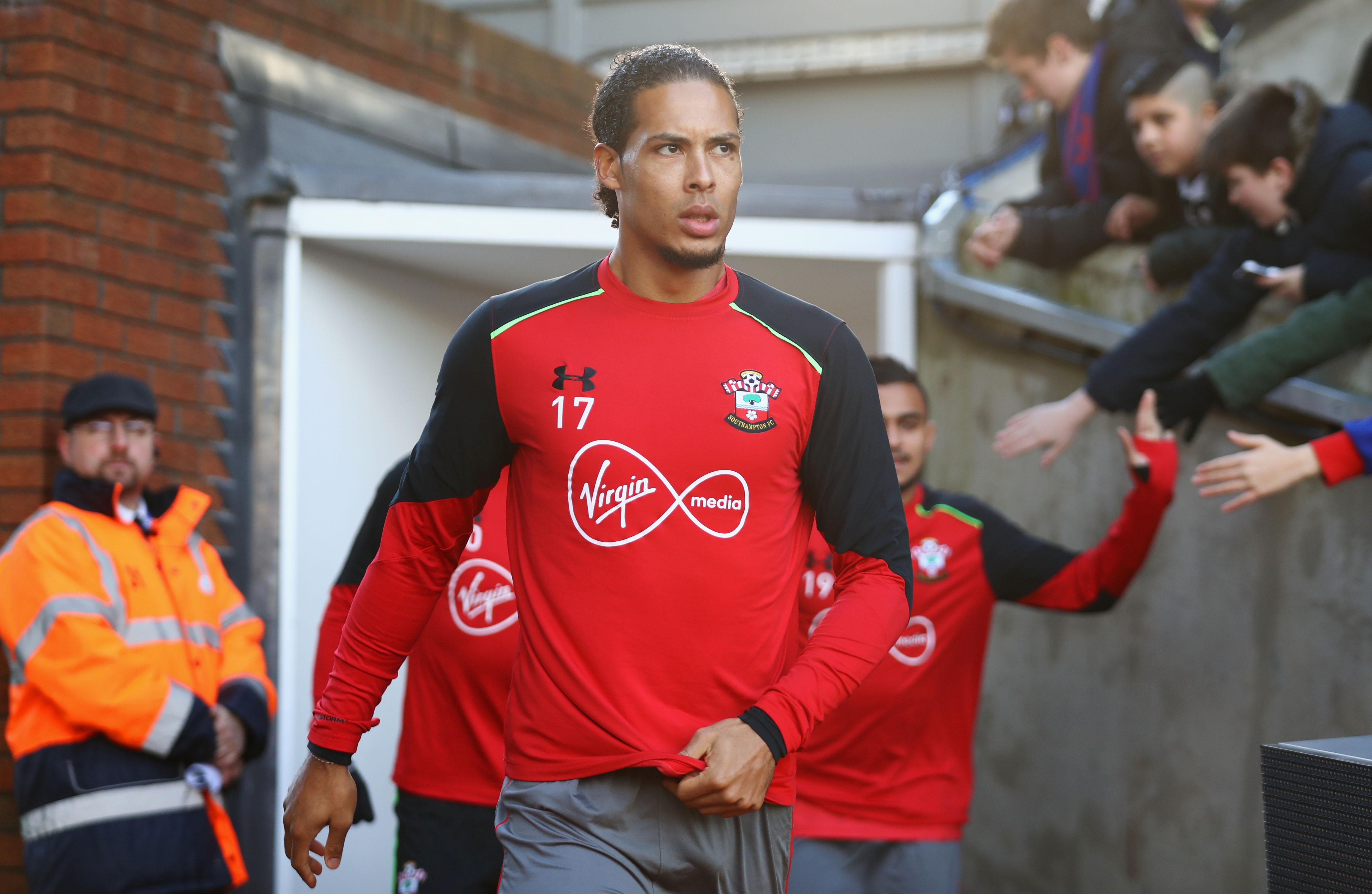 Southampton's Virgil van Dijk has fuels transfer talk: 'I want to play at the highest level'