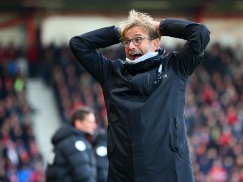 Jurgen Klopp reacts to shocking Liverpool defeat at Bournemouth