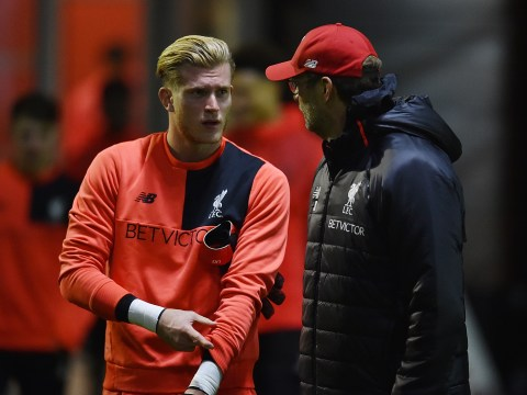 Jamie Carragher tells Liverpool goalkeeper Loris Karius to 'shut up and do your job' after West Ham mistake