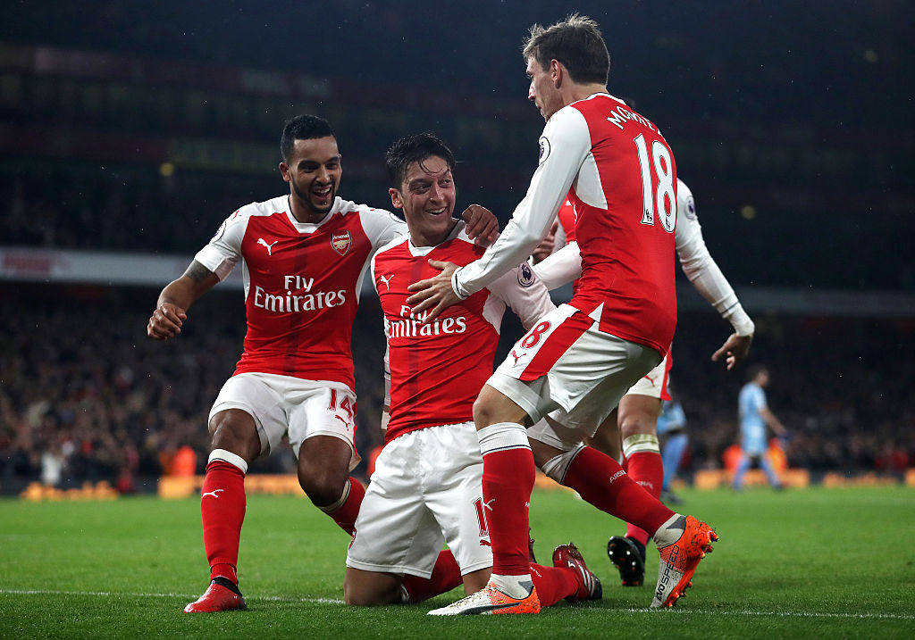 Arsenal 3-1 Stoke City: Mesut Ozil and Alexis Sanchez again underline why new contracts are vital