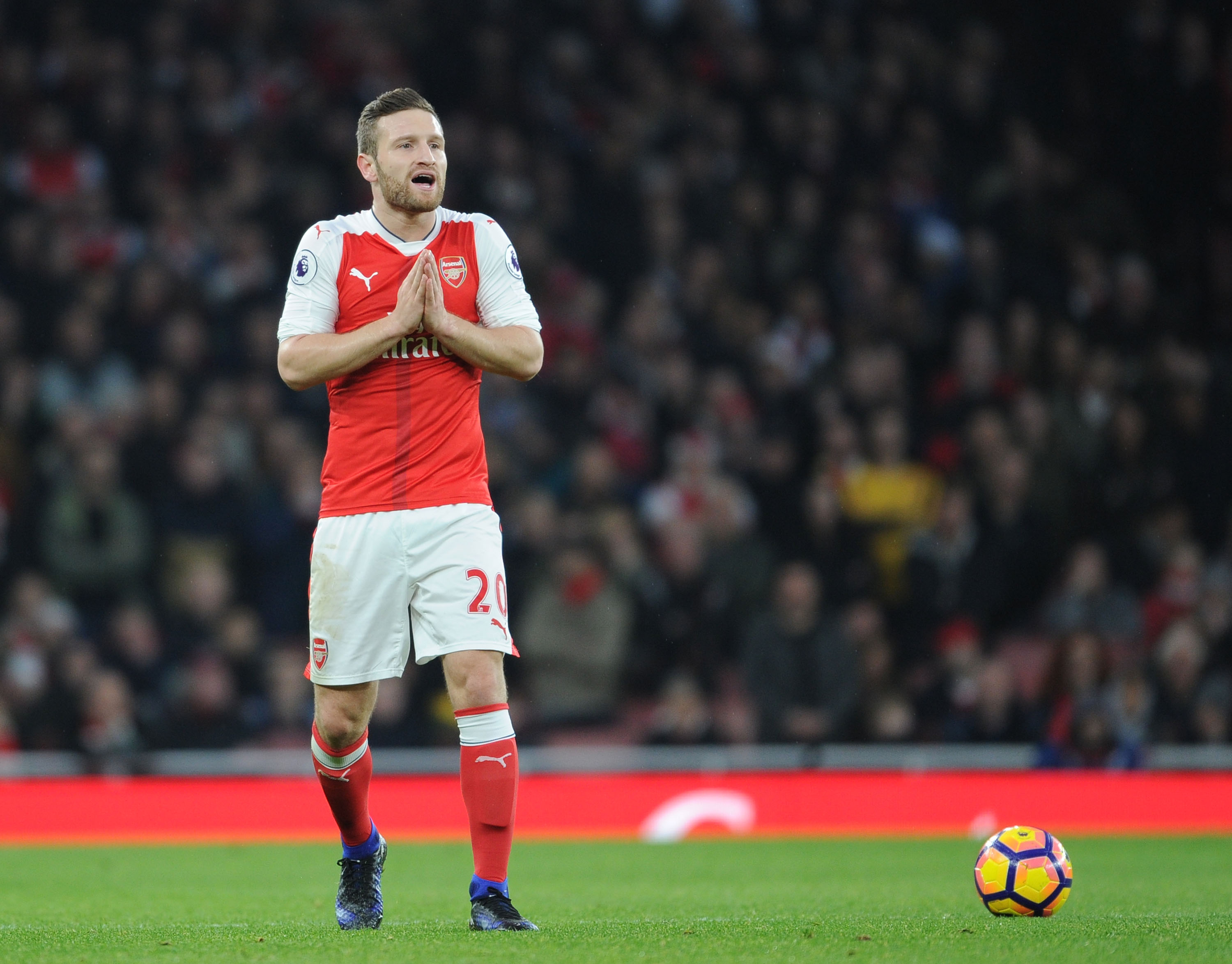 Arsene Wenger provides injury updates on Shkodran Mustafi, Danny Welbeck, Theo Walcott, Kieran Gibbs and Alex Oxlade-Chamberlain
