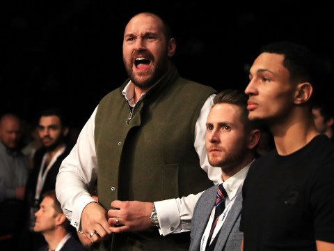 Tyson Fury infuriated he is made pay £200 to watch cousin fight on Anthony Joshua undercard
