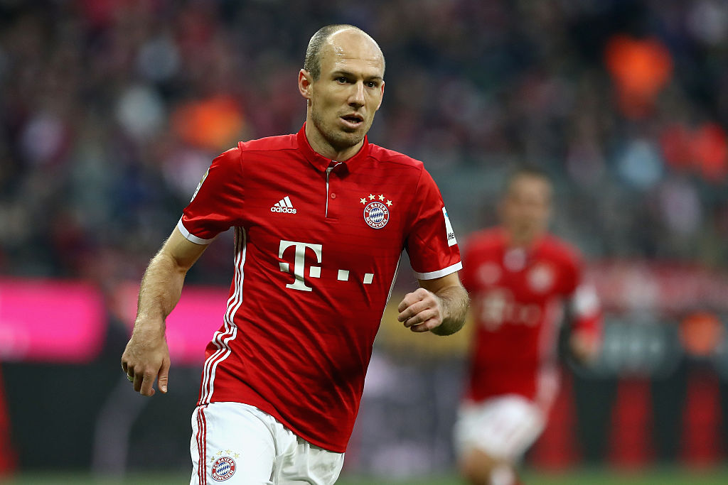 Arjen Robben sums up the difference between Arsenal and Bayern Munich
