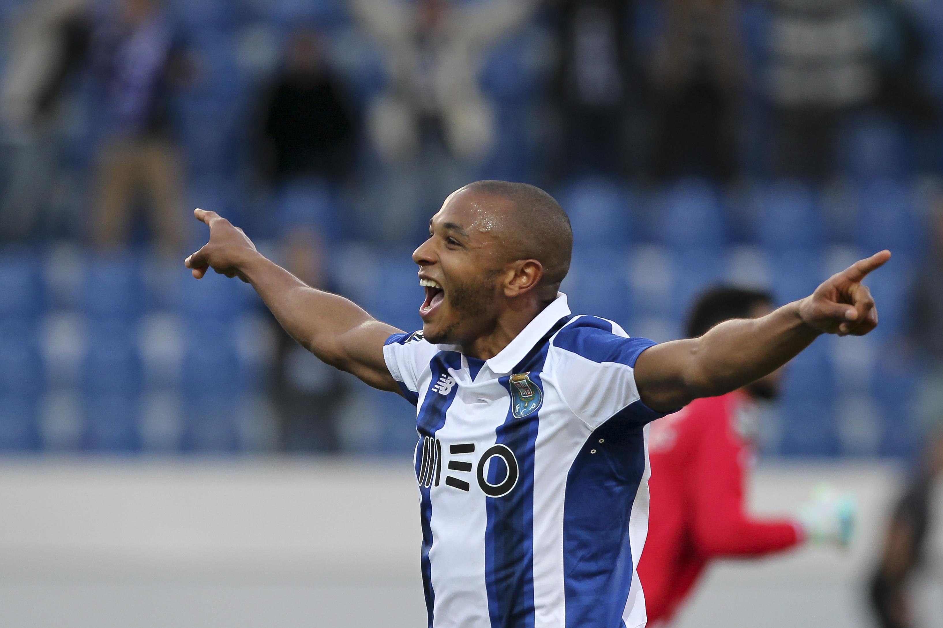 Arsenal scout Porto star Yacine Brahimi ahead of potential transfer