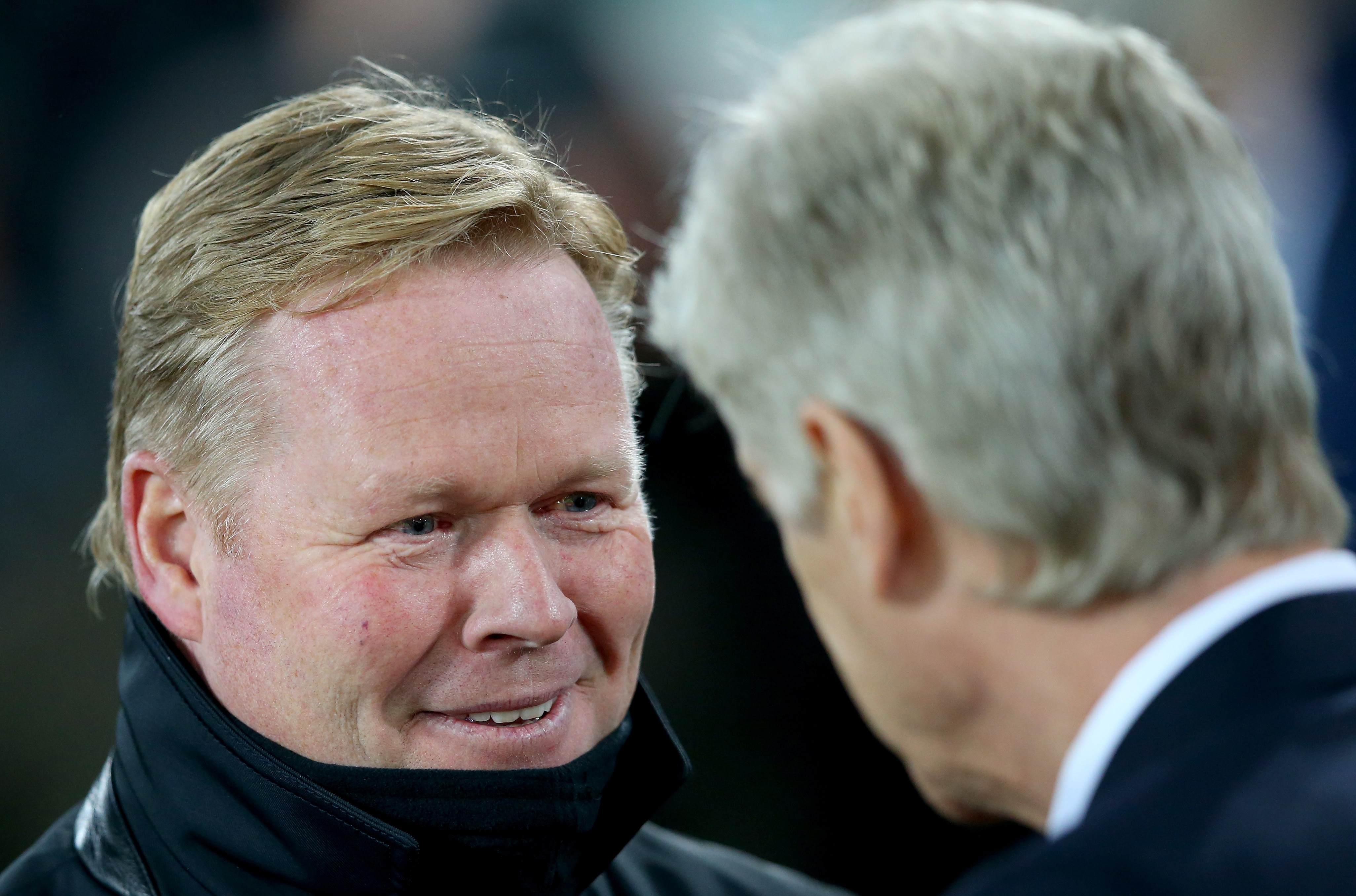 Ronald Koeman slams Arsene Wenger for complaining about the referee after Everton beat Arsenal