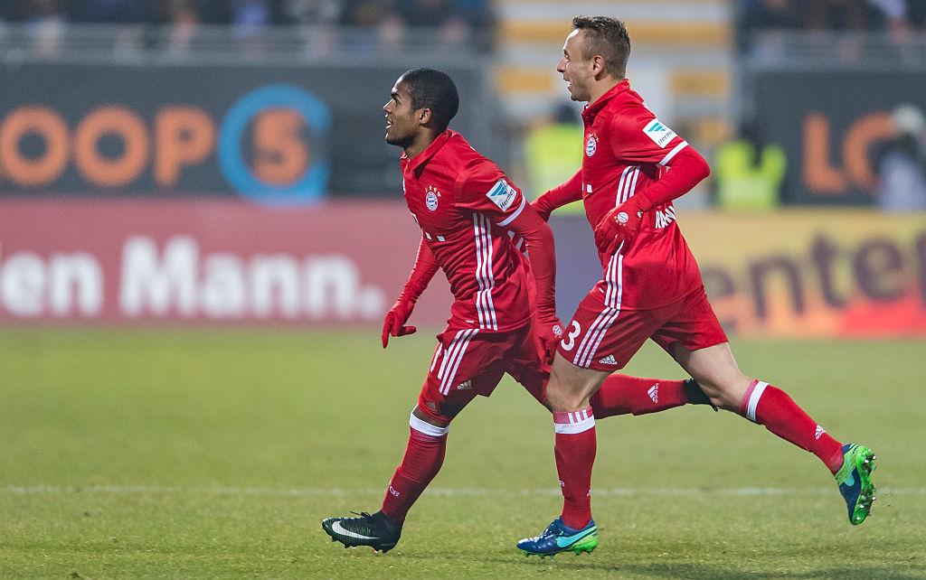 Bayern Munich star Douglas Costa scores wonder goal with Arsenal Champions League tie on the horizon