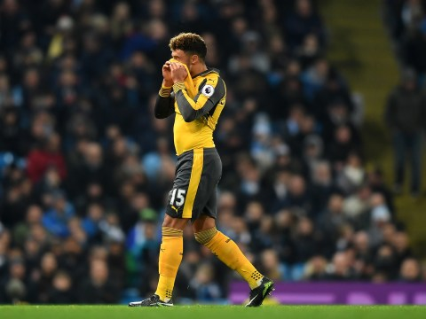 Arsenal forward Alex Oxlade-Chamberlain targeted by Liverpool in £25m move