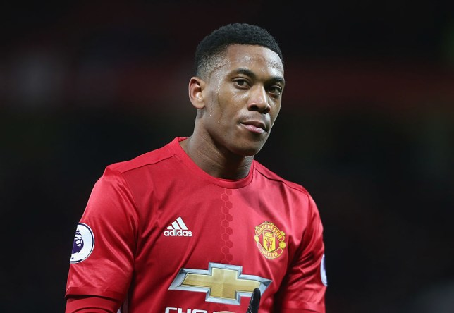 MANCHESTER, ENGLAND - DECEMBER 26: Anthony Martial of Manchester United walks off after the Premier League match between Manchester United and Sunderland at Old Trafford on December 26, 2016 in Manchester, England. (Photo by Tom Purslow/Man Utd via Getty Images)