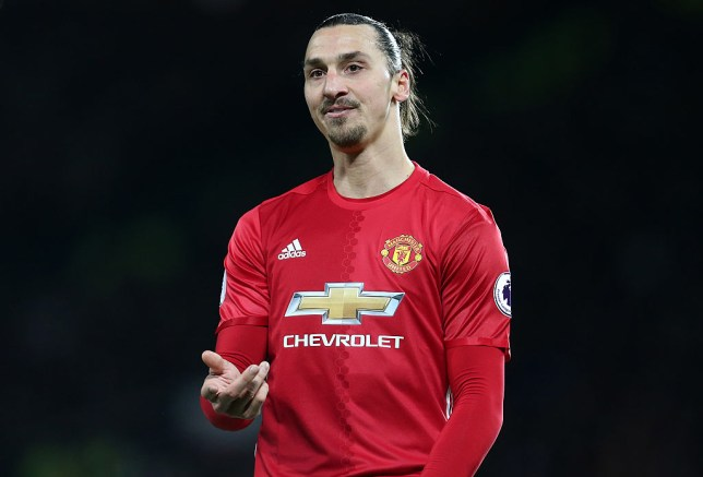 MANCHESTER, ENGLAND - DECEMBER 26: Zlatan Ibrahimovic of Manchester United during the Premier League match between Manchester United and Sunderland at Old Trafford on December 26, 2016 in Manchester, England. (Photo by James Baylis - AMA/Getty Images)