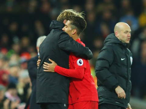 Jurgen Klopp: I couldn't leave Roberto Firmino out for Liverpool v Stoke