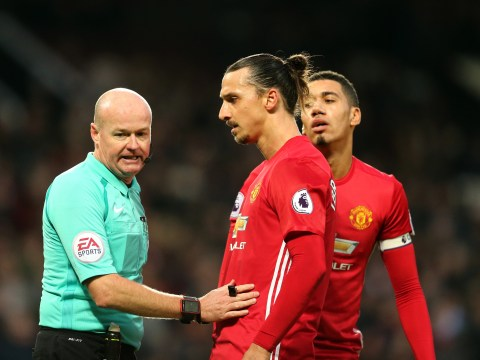 Jose Mourinho furious with referee for robbing Zlatan Ibrahimovic of 2016 goal record