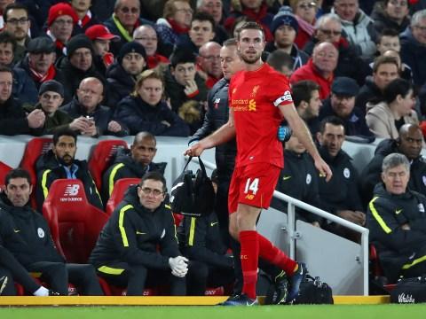 Jurgen Klopp provides injury update on Liverpool captain Jordan Henderson