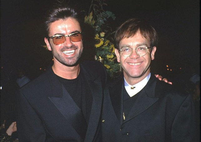 George Michael & Elton John in Santa Barbara, California (Photo by Steve Granitz/WireImage)