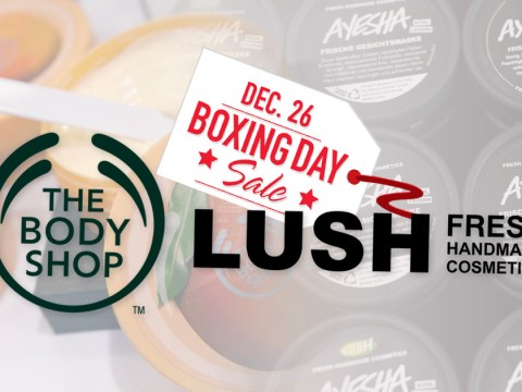 Boxing Day sale deals 2016:  50% off at Lush and The Body Shop
