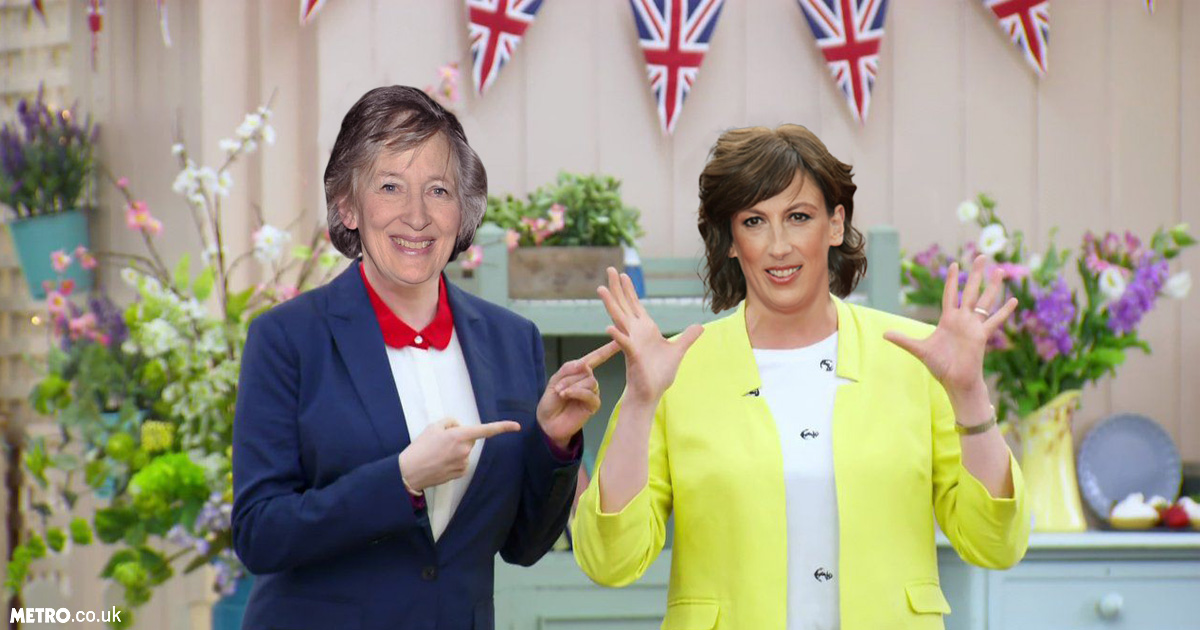 Miranda Hart and her mum tipped to present Bake Off because nothing is sacred anymore