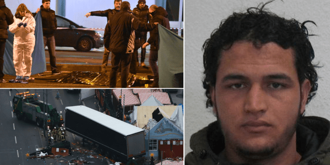 Tunisian suspected of killing 12 at Christmas Market 'still in Berlin' Credit: AFP/Getty Images/AP