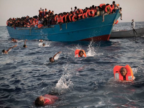 Up to 100 migrants feared dead after boat sinks off Libya