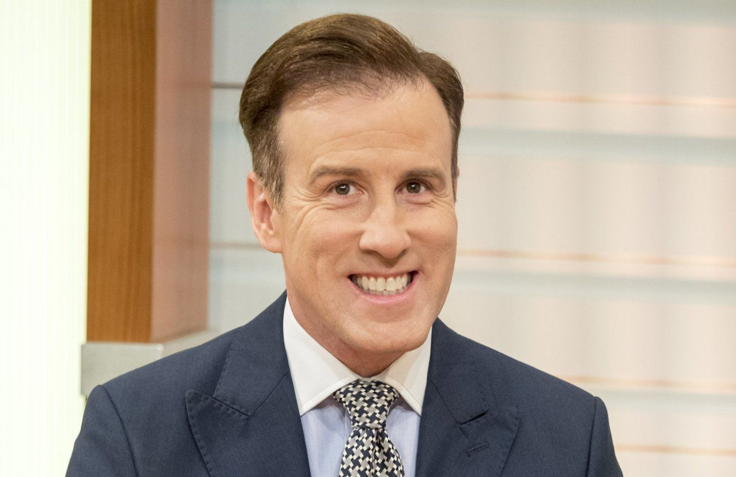 EDITORIAL USE ONLY. NO MERCHANDISING Mandatory Credit: Photo by Ken McKay/ITV/REX/Shutterstock (7533033v) Anton Du Beke 'Good Morning Britain' TV show, London, UK - 02 Dec 2016 Will Anton be the man to replace head judge Len Goodman after this year's series? Anton gives us his first interview after revealing his partner Hannah is three months pregnant after IVF treatment. Anton Du Beke and Erin Boag join us on the sofa to tell us about their national tour.