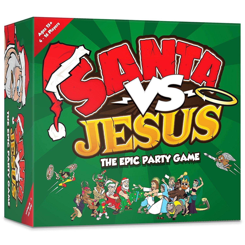 pic - santa vs jesus https://www.amazon.co.uk/Santa-VS-Jesus-Christmas-Families/dp/B01J8DXFOM/ref=sr_1_1/255-9513537-8628068?ie=UTF8&qid=1480773168&sr=8-1&keywords=jesus+versus+santa