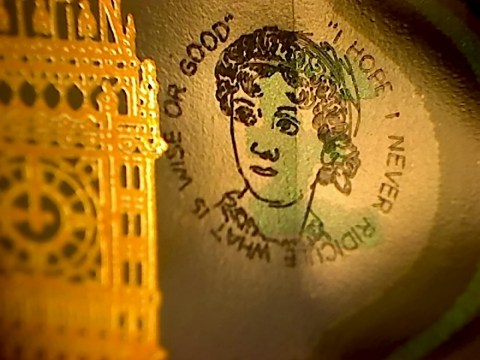 Spot this rare engraving on your fiver and you could make £20,000