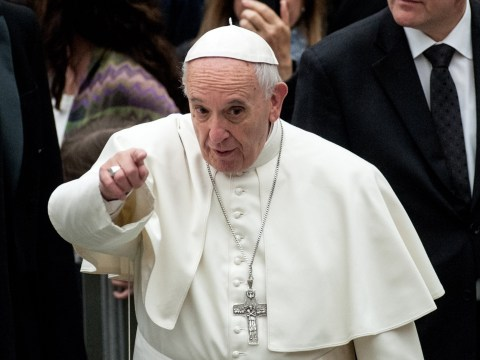 Pope Francis tells people not to 'eat faeces'