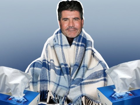 Simon Cowell could MISS The X Factor final due to bad bout of flu