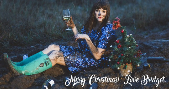 Single At Christmas.Single Girl Makes Brilliant Solo Christmas Cards Every Year