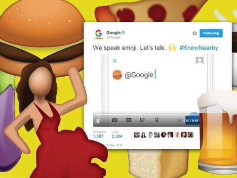 Here's what happens when you send Google the peach emoji