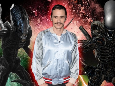 James Franco is going to be in Alien: Covenant and we don't know how we're supposed to feel about that