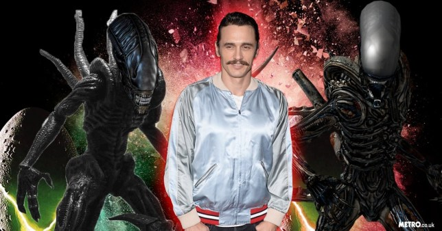 (Picture: Getty/Metro) franco v aliens.png James Franco to appear in Alien: Covenant?