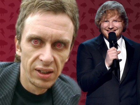 Super Hans from Peep Show just summed up Ed Sheeran most brilliantly