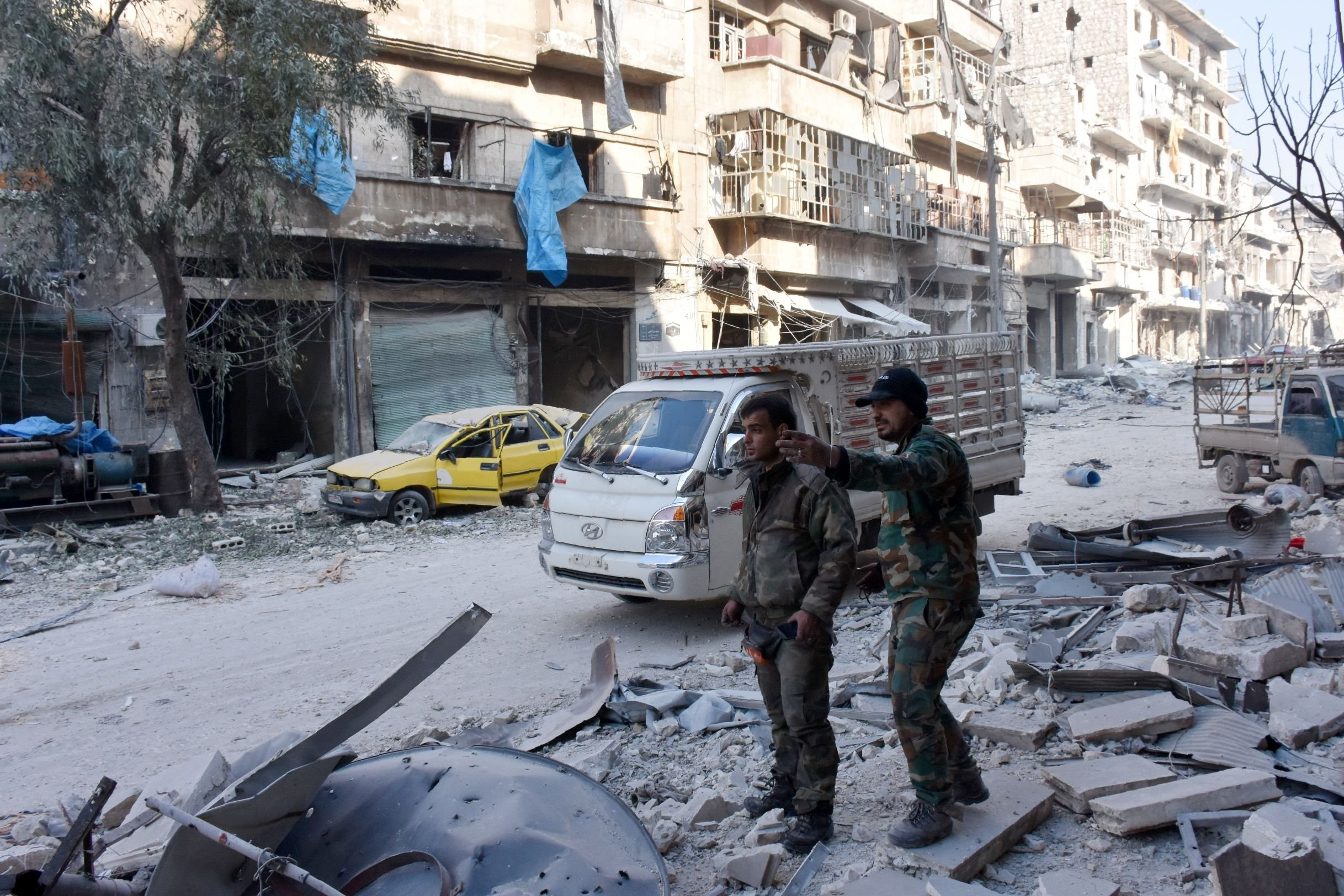 Syrian army now in control of 98% of Aleppo