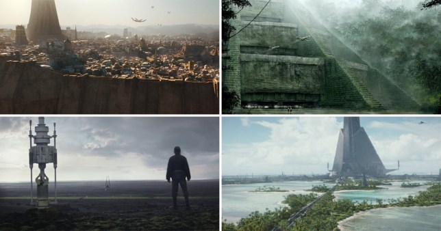 New planets in Rogue One: A Star Wars Story