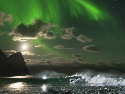 Fancy crossing 'surfing under the Northern Lights' off your bucket list?