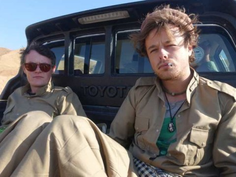 Backpackers get drunk and wake up on front line in Iraq