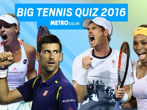 Metro.co.uk's big tennis quiz 2016: Test your knowledge on this year's tennis action