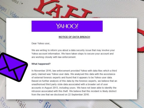 Yahoo urges its 500 million users to change their passwords after huge data breach